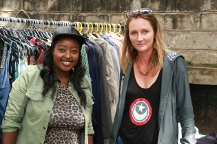 Gik Chic Owner Kimberly Njau and Rachael Feiler